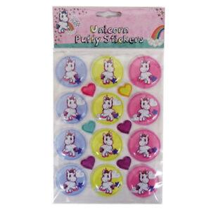 Magical Misty Unicorn - Puffy Stickers