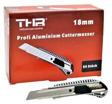24 x Profi Alu Cuttermesser Teppichmesser Cutter für 18mm Abbrechklingen