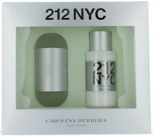212 NYC by Carolina Herrera for Women Set - EDT Spray 3.4oz + Body Lotion 6.75oz