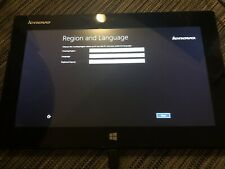 Lenovo IdeaPad Miix 10 Windows 8 Tablet 10.1 in. Touchscreen with BT Keyboard