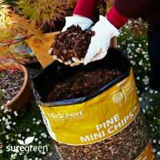 More details for pine mini chips bark mulch | 60l | melcourt | suppresses weed growth | boxed