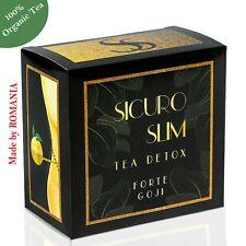 Sicuro Slim Detox Tea Forte Goji Weight Loss All Natural Cleanse Slimming Tea