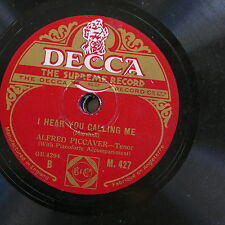 78rpm ALFRED PICCAVER i hear you calling me / homing