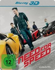 Need for Speed Steelbook 3D [Blu-ray Disc] NEW