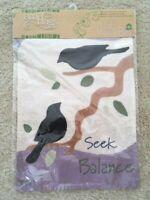 Seek Balance Decorative Garden Flag