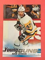 2019-20 Upper Deck Young Guns Adam Johnson #517 Pittsburg Penguins