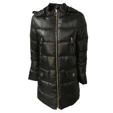 Pennyblack Women's down Jacket Long Hooded Red or Black Mod. Quills