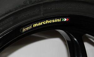 Marchesini Felgenrandaufkleberm Aufkleber  für Ducati Aprilia KTM MV Agusta