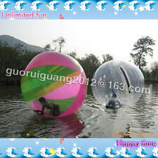 2M Walk on Water Walking Ball Roll Inflatable German Zipper Zorb PVC