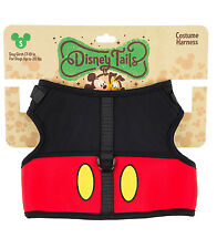 Disney Parks Mickey Mouse Costume Dog Harness Small  NEW