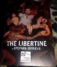 Dominic Cooper Signed The Libertine Theatre Programme Preacher & Mamma Mia PROOF