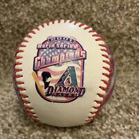 2001 Arizona Diamondbacks Champions Souvenir baseball collectible ball