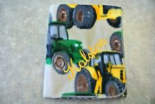 """Baby Blanket Tractors Can Be Personalized 28x44"""""""