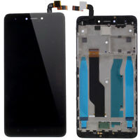 Black LCD Touch Screen Assembly with Frame For Xiaomi Redmi Note 4X Snapdragon