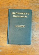 MACHINERY'S HANDBOOK 15th Edition dated 1955