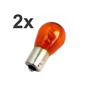 2x Osram 7507 Ampoule Orange Clignotant Lampe Clignotant PY21W 12V BAU15s