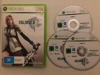 Final Fantasy XIII 13 (Microsoft Xbox 360, 2009) Square RPG PAL Game