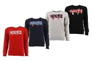 HUGO BOSS Sweatshirt Pullover DICAGO HUGO REVERSED Kollektion S M L XL XXL