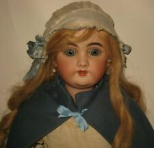 """Gorgeous Handwerck 109 Bisque Head 28"""" Doll Compo Body #BR4 For French Market"""