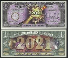 Lot of 25 Bills - Happy New Year 2021 Million Dollar Bill