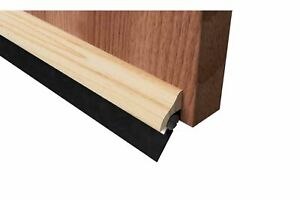 Brydale Automatic Rubber Door Bottom Threshold Sweep Seal Wood Draught Excluder
