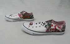 Converse CT All Star OX Print Women's Shoes White/Pink Freeze 549672C Size 9.5