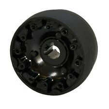 Bennington Black 3 3/4 Inch Aluminum New Style Boat Steering Wheel Hub