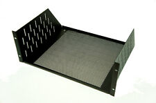 4 Space/ 4U Vented Rack Mount Shelf Audio / Networking / Equipment Rack