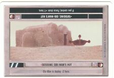 Star Wars CCG Premiere White Border Tatooine : Obi Wans Hut
