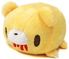 Taito Gloomy Bear Cute Lay Down Stackable 5'' Mascot Plush ~ Yellow TA33100