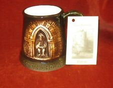 More details for great yarmouth potteries limited edition mug/tankard of saint nicolas 356/500