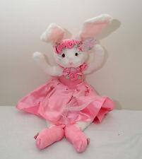 "25"" Tall Bunny Ballerina Doll by Three Cheers Fun (Perfect Dance Recital Gift)"