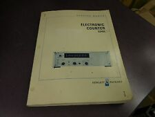 HP Electronic Counter 5245L Service Manual 3110A-3