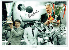 Bobby ROBSON Signed Autograph MASSIVE 16x12 Montage Photo AFTAL COA