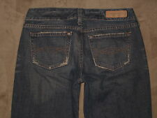Abercrombie & fitch Size 2R Flare Dirty Wash 100% Cotton Denim Womens Jeans