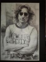 John Lennon The Beatles New York Art Haiyan Poster