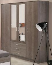 Schlafzimmerschränke aus Spanplatten mit Spiegel