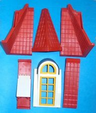 Playmobil LOT of ... DOLLHOUSE ROOF sections and 1 Window