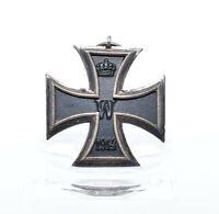 Orden Eisernes Kreuz 2. Klasse 1914 EK 2 Wilhelm II WW1 Iron Cross Hersteller We