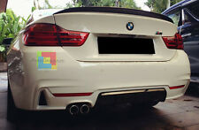 SOTTO PARAURTI PER BMW SERIE 4 F32 F33 F36 DIFFUSORE POSTERIORE LOOK M