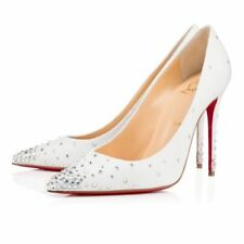 Christian Louboutin Women's Stiletto 100% Leather Heels for Women
