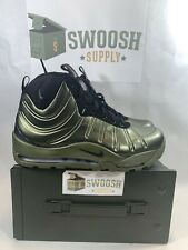NIKE AIR BAKIN' POSITE SHOES HIGH OLIVE GREEN MENS NEW 618056-200