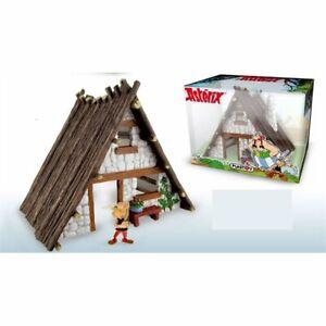 Asterix House with 1 Asterix plastic figurine set New Plastoy