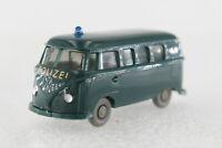 A.S.S Wiking Alt PKW VW T1 Bus Polizei Blaugrün 1961 GK 1030/2A CS 1084/1A FDS