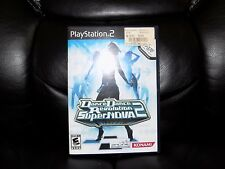 Dance Dance Revolution SuperNova 2 Bundle (Sony PlayStation 2, 2007) EUC