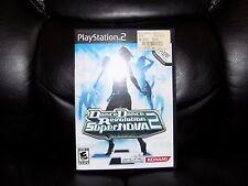 Dance Dance Revolution SuperNova 2 Bundle (Sony PlayStation 2, 2007) EUC