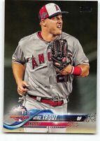 2018 Topps Update All-Star #US176 Mike Trout Los Angeles Angels