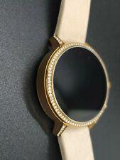 Fossil Q Rose Gold Rhinestone Smartwatch DW7F1 HR1070