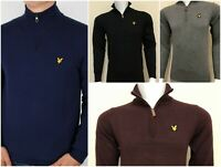 LYLE AND SCOTT QUARTER ZIP JUMPER FOR MEN NEW ARRIVAL