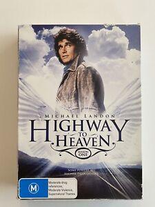 Highway To Heaven Season 1 (7 Disc DVD) Region 4 TV Series Michael Landon!